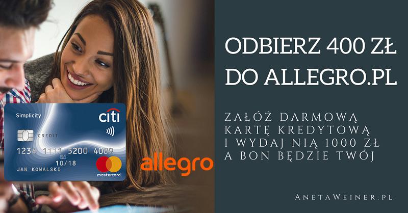 Bon 400 zł do Allegro.pl