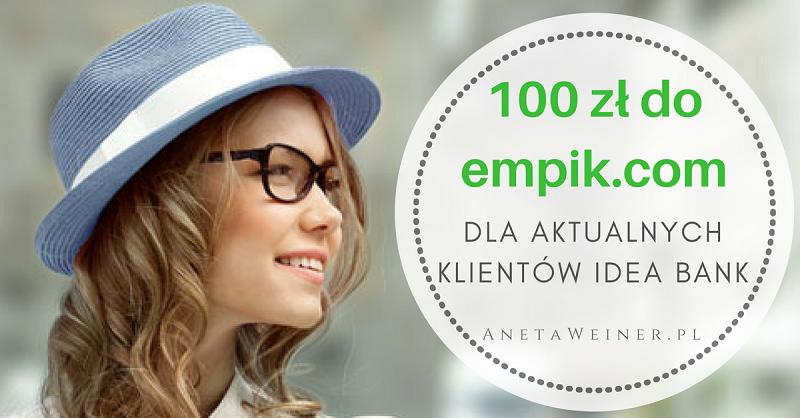 100 zł za założenie portfela Masterpass dla aktualnych klientów Idea Bank [Małe oszczędności]