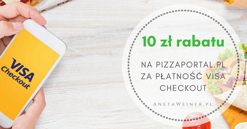 Rabat 10 zł na Pizzaportal.pl za płatności Visa Checkout [Małe oszczędności]