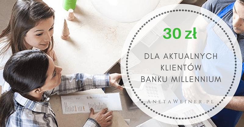 30 zł za 3 płatności mobilne dla aktualnych klientów Millennium [Małe oszczędności]