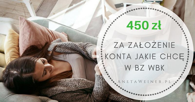 HIT! 450 zł za płatności kartą i wpływ wynagrodzenia na Konto Jakie Chcę w BZ WBK